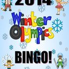 FREE! Winter Olympics Bingo Game Activity