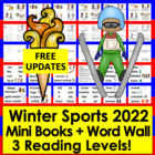 Winter Sports Emergent Readers 2014 and Harder-3 Levels-3