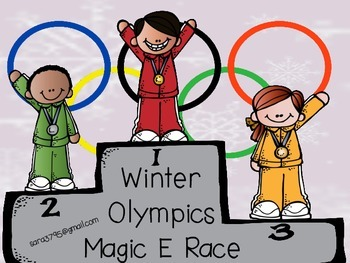 Winter Olympics *Magic E Race*  Freebie
