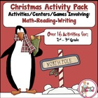 Winter Activities Pack using Reading-Writing-Math