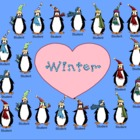 Winter Penguin Attendance File