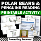 Winter Penguins & Polar Bears Little Book + Reading Activities