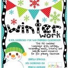 Winter Primary Common Core Printables Kit