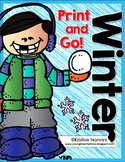 Winter Print and Go Freebie {4th and 5th Grade English Lan