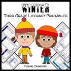 Winter Quick Common Core Literacy (3rd grade)