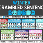 Winter Scrambled Sentences Bundle Pack