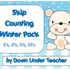 Winter Skip Counting 2&#039;s, 3&#039;s, 5&#039;s, 10&#039;s and 10&#039;s from sin