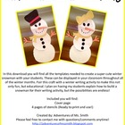 Winter Snowman Craftivity