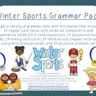 Winter Sports Grammar Pack