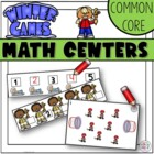 Winter Sports Math Work Stations - Aligned to Common Core