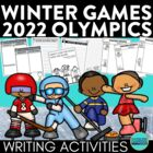 Winter Sports Writing Packet {Common Core Olympics Narrati
