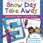 "Winter Subtraction ""Snow Day Take Away"" {Page Protector Pr"