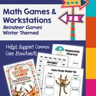 Winter - TWELVE 2nd Grade Math Games &amp; Centers to Support 