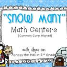 Winter-Themed Common Core Math Centers