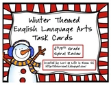 Winter Themed English Language Arts Task Cards