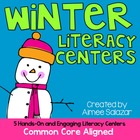 Winter Themed Literacy Centers