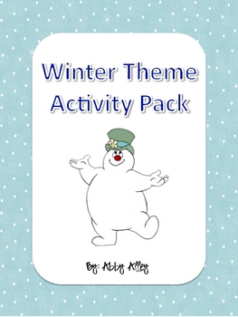 Winter Themed Literacy and Math Activities