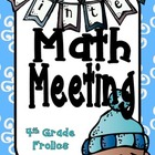 Winter Themed Math Meeting Headers