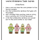 Winter-Themed Multiplication Word Problem Task Cards (3.OA.3)