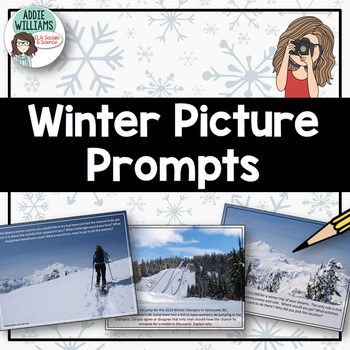 Winter Themed Picture Writing Prompts - FREE