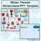 Winter Themed Review Game Template for PPT