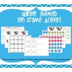 Winter Themed Ten Frame Activity