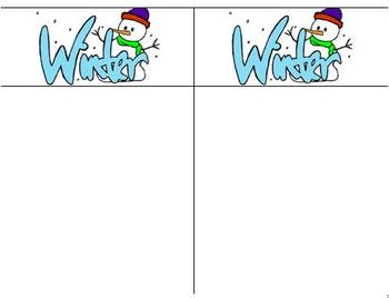 Winter Things Graph