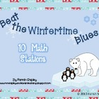 Winter Time Blues---MATH STATIONS ONLY