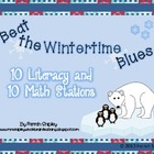 Winter Time Blues--Math and Literacy Bundle