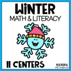 Winter Fun - Math & Literacy Centers