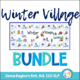 Winter Village BUNDLE: Social, Grammar, Languag