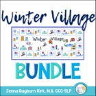 Winter Village BUNDLE: Social, Grammar, & Language