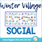 Winter Village: Social Language Activities