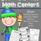 Winter Winners! Common Core Aligned Math Centers!