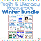 Winter Wonderland All Bundled Up Math and Literacy Centers