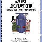 Winter Wonderland Centers For Math and Literacy