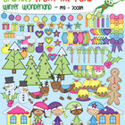 Winter Wonderland - Christmas Clipart Super Set for Teachers