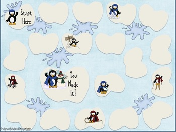 Winter Wonderland Game Pack {Math & Literacy}
