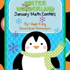 Winter Wonderland: January Math Centers