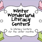 Winter Wonderland Literacy Centers for the Winter Months
