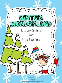 Winter Wonderland Literacy Centers