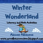 Winter Wonderland Literacy and Math Activities