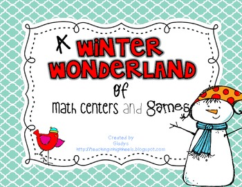 Winter Wonderland Math Games