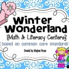 Winter Wonderland {Math & Literacy Centers} Aligned to the