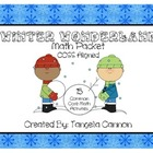 Winter Wonderland Math Packet