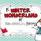 Winter Wonderland Math and Literacy Centers {Bundle}