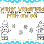 Winter Wonderland: Pre-K and K Literacy and Math Activities
