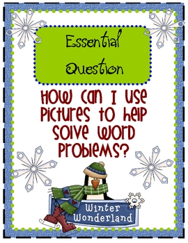 Winter Wonderland Word Problems Tiered Math Tub