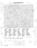 Winter Wonderland Word Search
