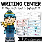 Winter Word Cards {and writing practice}
